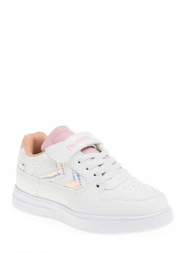 Hummel Çocuk Ayakkabı Power Play Low Hologram 210944-9001 Beyaz